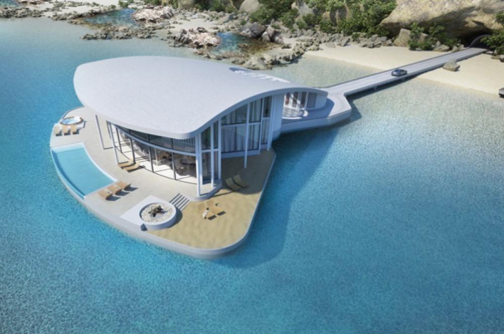 Su üzərində ev