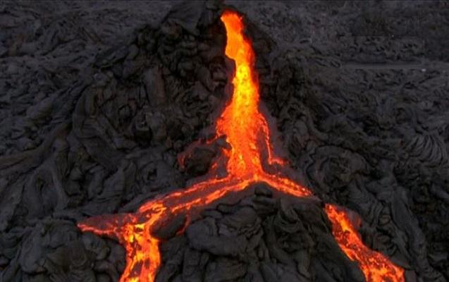 Ən aktiv vulkanlardan biri püskürdü