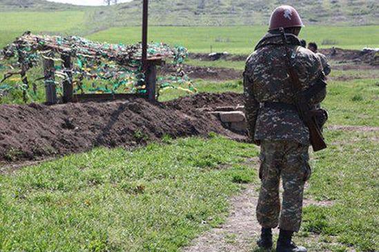 Erməni hərbçisi öz məsləkdaşını güllələdi
