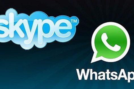 """""""WhatsApp"""" və """"Skype""""la bağlı qadağa"""