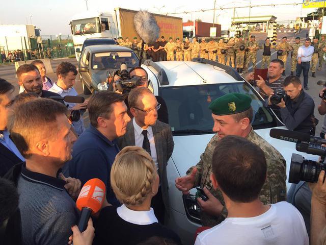 Ukrayna Saakaşvilinin olduğu ərazini minaladı
