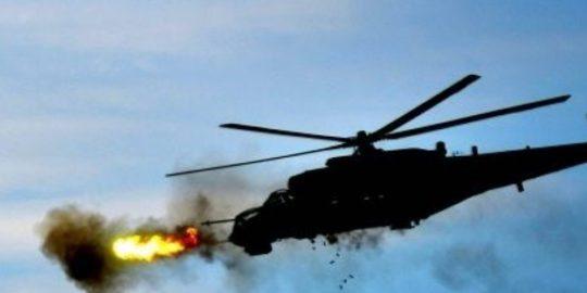 Helikopter qəzaya uğrayıb