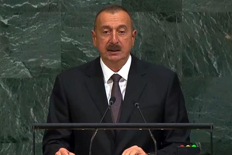 Azərbaycan prezidenti BMT-nin baş katibi ilə görüşüb