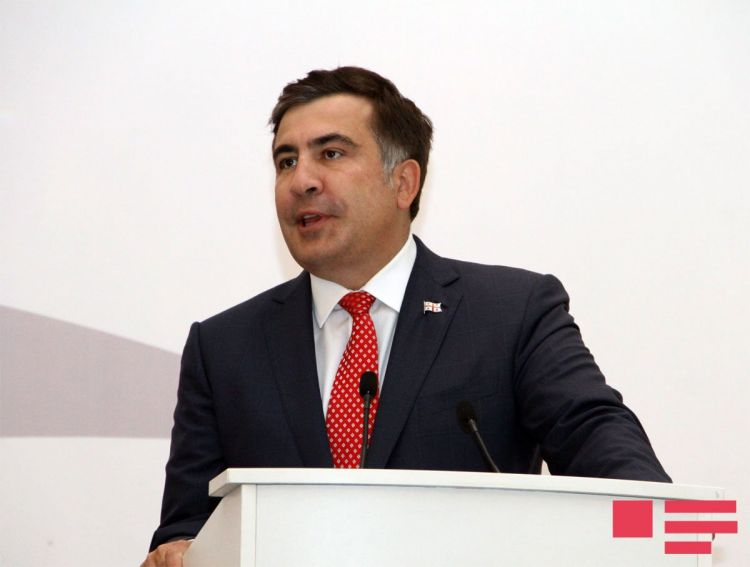 Azərbaycanlı gənclər Saakaşvilinin evində qonaq oldu