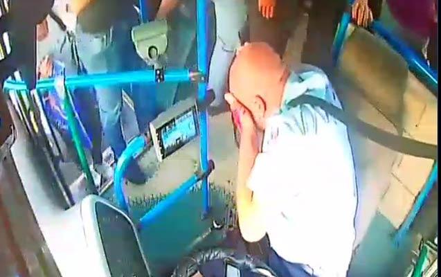 Bakıda daha bir avtobus sürücüsü vəhşicəsinə döyüldü –