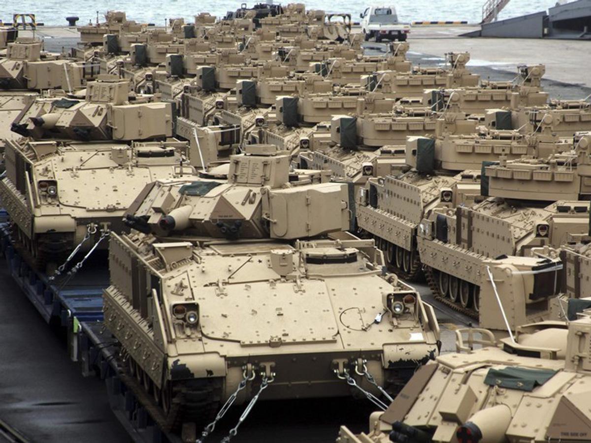 Misir və ABŞ ordusu bir araya gəlir