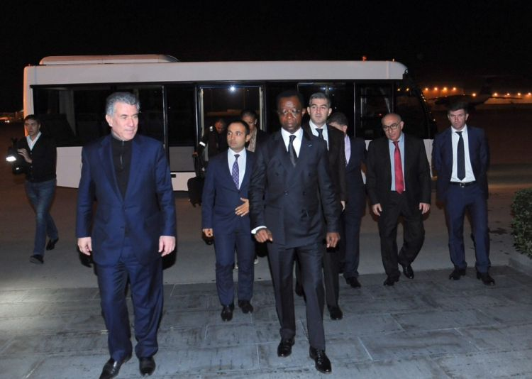Pan-Afrika Parlamentinin prezidenti Azərbaycana gəlib