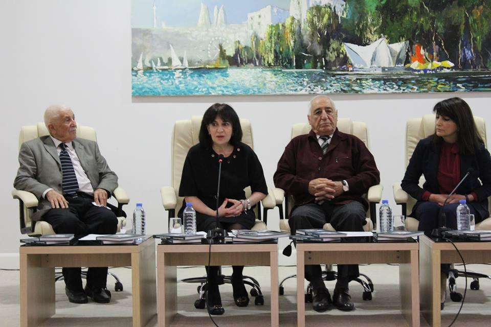 Akademik Hüseyn Həsənovun xatirəsinə həsr olunan kitabların təqdimatı keçirilib