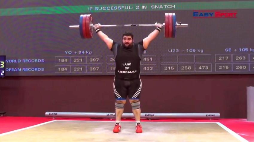 Albaniyada keçirilən ağır atletika üzrə Avropa çempionatı başa çatıb