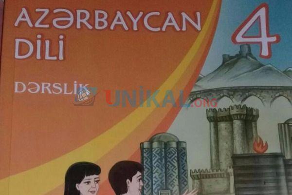 4-ci sinif Azərbaycan dili dərsliyində biabırçılıq