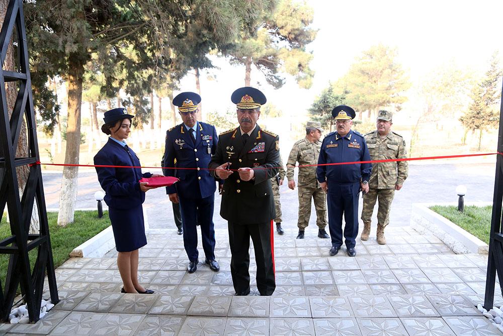 Zakir Həsənov yeni hərbi hissənin açılışını etdi