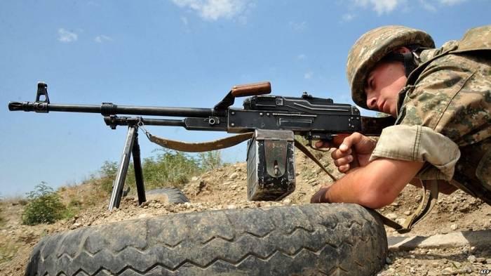 Ermənistan ordusu Qazax rayonunun Qaymaqlı kəndini atəşə tutub
