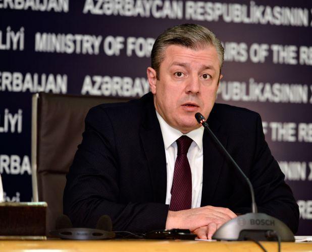 Gürcüstanın baş naziri Azərbaycana gəlir