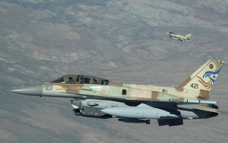 Suriya ordusu İsrailin hərbi təyyarəsini vurdu