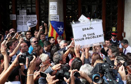 Kataloniya qarışdı: