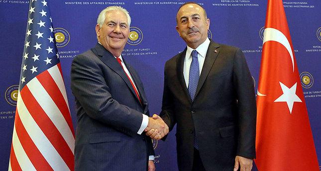 Çavuşoğlu-Tillerson arasında görüş: