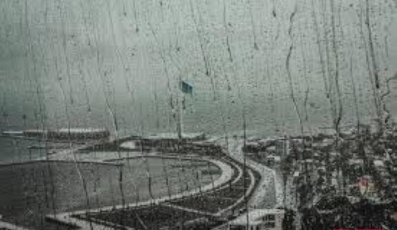 Azərbaycana 9 santimetr qar yağdı