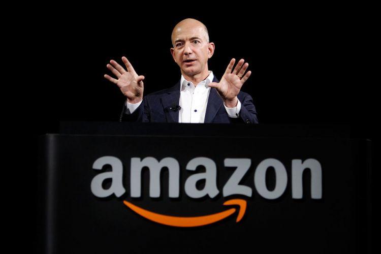 """""""Amazon""""un sahibi 1 milyard dollarlıq səhmlərini satıb"""