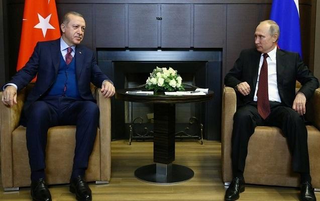 Putin və Ərdoğan arasında görüş başa çatıb –