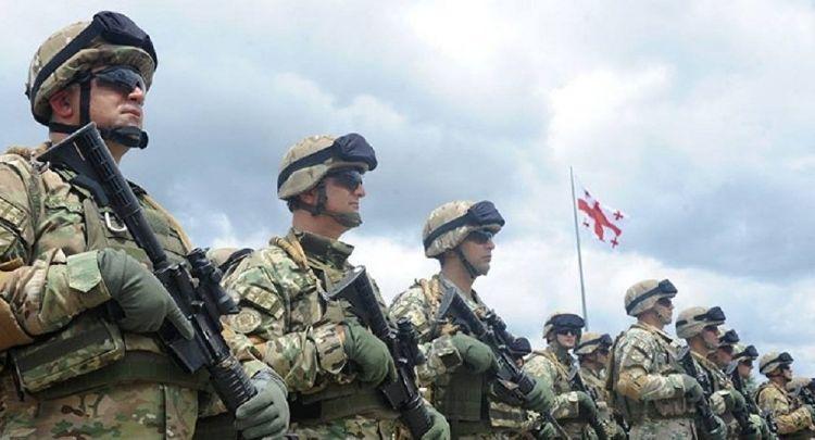 Əfqanıstanda üç Gürcüstan hərbçisi yaralanıb