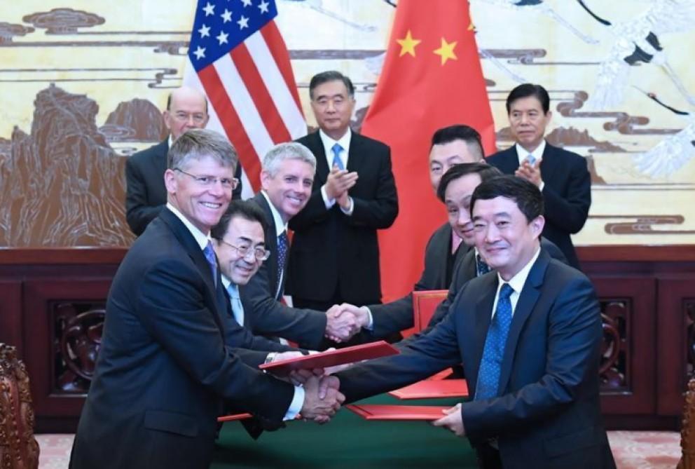 Çin və ABŞ arasında 9 milyardlıq müqavilələr…