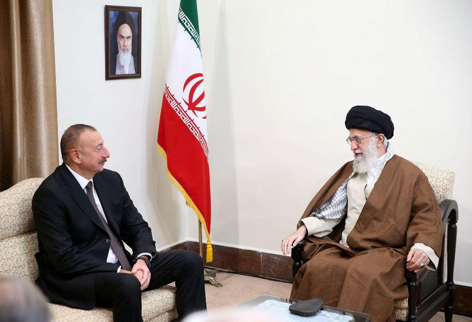Azərbaycan Prezidenti İranın Ali Rəhbəri ilə görüşüb –