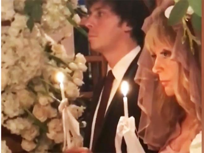 Alla Puqaçova Maksim Qalkin ilə rəsmi nikaha girdi