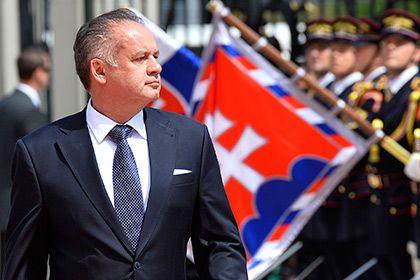 Slovakiya prezidenti yol qəzasına düşüb