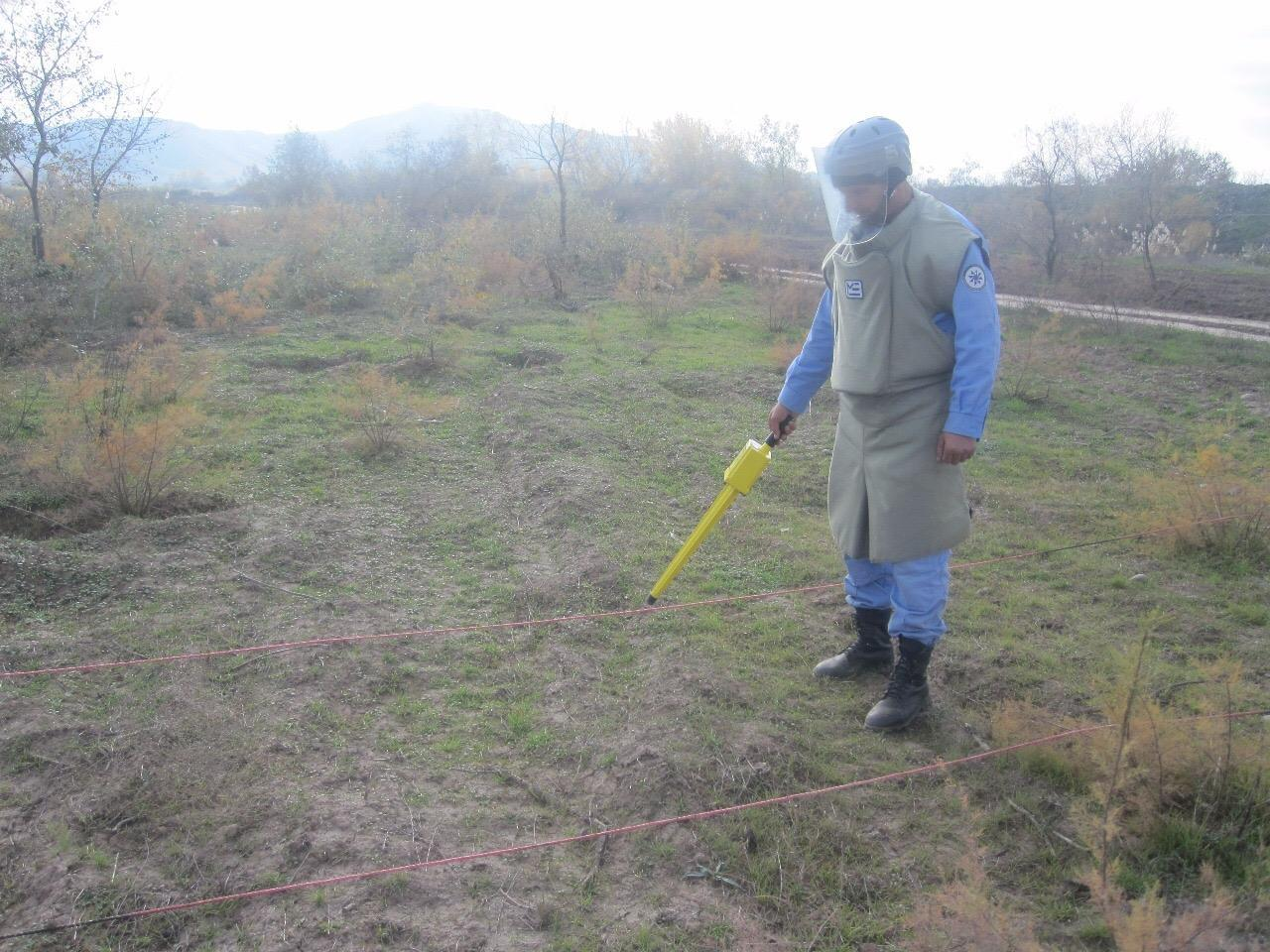 Cocuq Mərcanlıda 42100 kv.m. ərazi təmizlənib