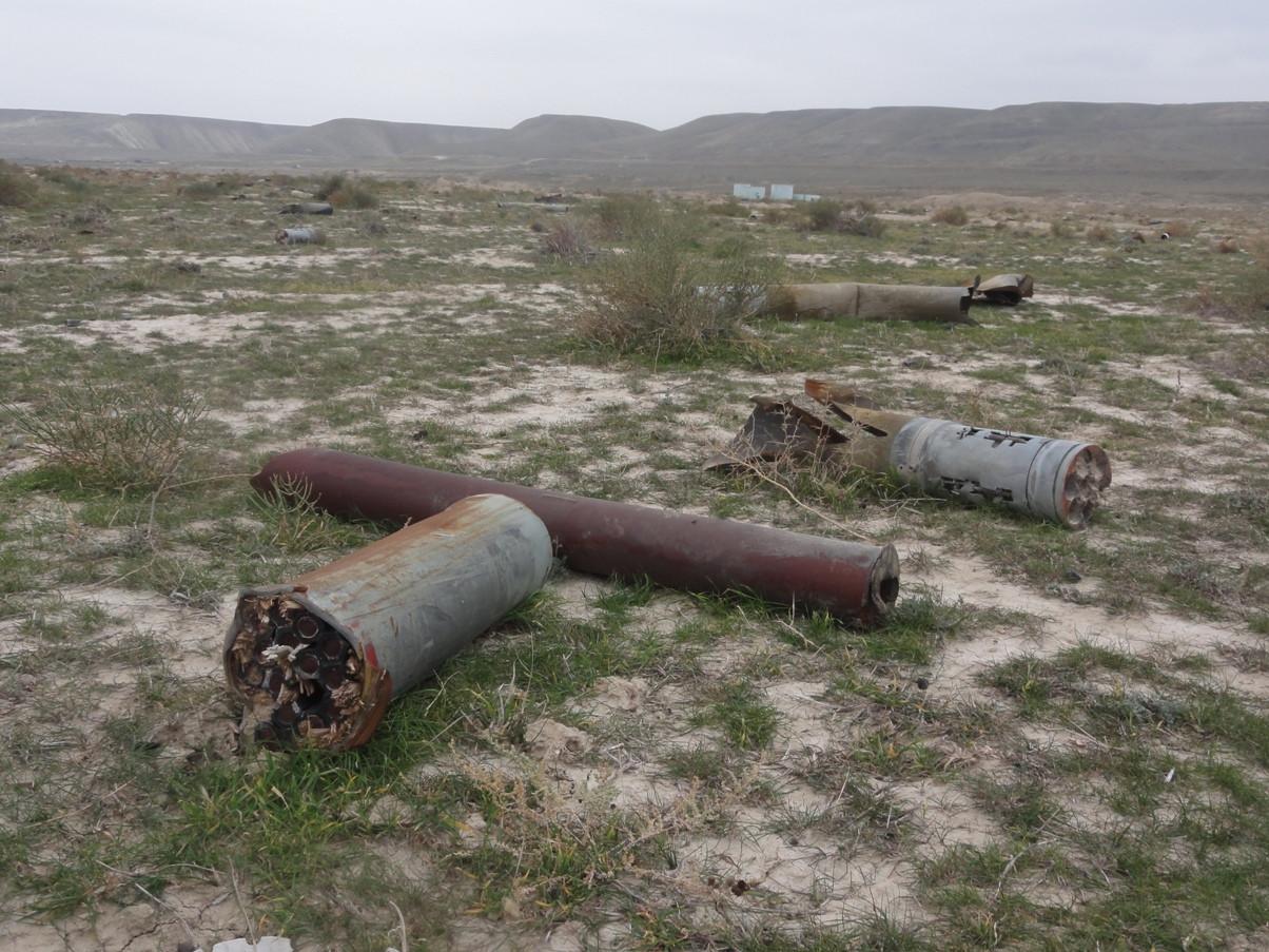 Bakı-Novorossiysk neft kəməri yaxınlığında partlamamış hərbi sursatlar tapılıb
