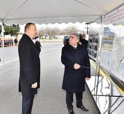 İlham Əliyev yeni yolun təməlini qoydu