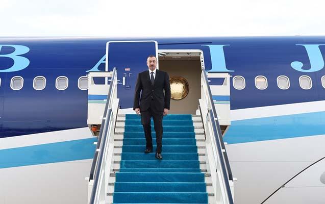 Prezidentin Türkiyə səfəri başa çatdı