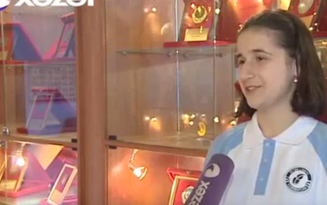 15 yaşlı Reyhan prezidentin qızı ilə görüşündən danışdı –