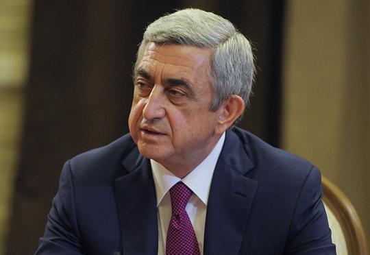 Sarkisyan istefa verdi