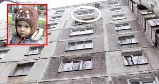 İntihar edən kişi 2 yaşlı uşağın üstünə düşdü