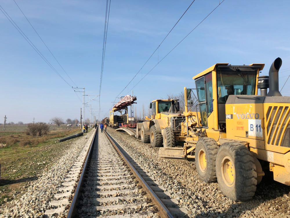 Tovuz-Qovlar dəmir yolu xətti əsaslı təmir olunur