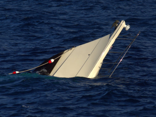 Cənubi Koreya sahillərində batmış balıqçı gəmisi aşkar edilib