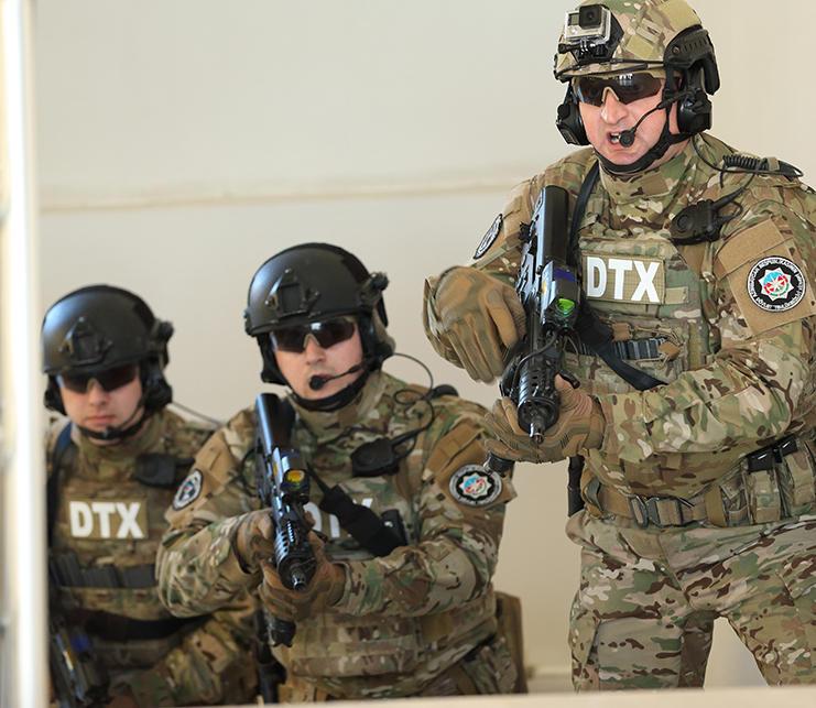 DTX polislə birgə əməliyyat keçirdi