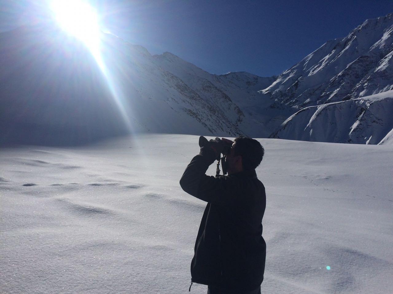 Alpinistlərin axtarışı üçün əraziyə ağır texnikanın cəlb edilməsi daha təhlükəli vəziyyət yarada bilər