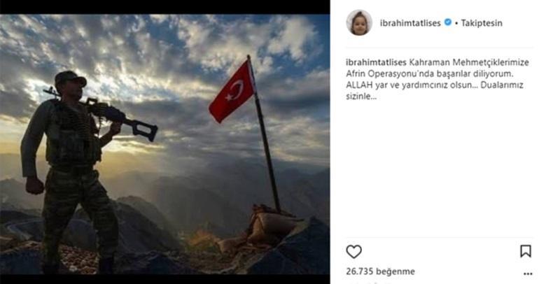 Tatlısəsdən Afrin mesajı: