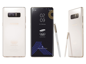 """""""Samsung Galaxy Note 8"""" smartfonunun """"olimpiya"""" versiyası hazırlanıb"""