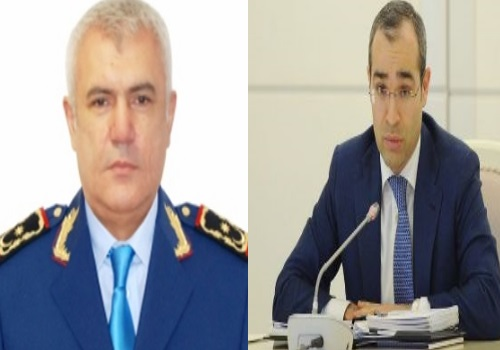 Mikayıl Cabbarov Fazil Məmmədovun yaxın kadrını yola saldı