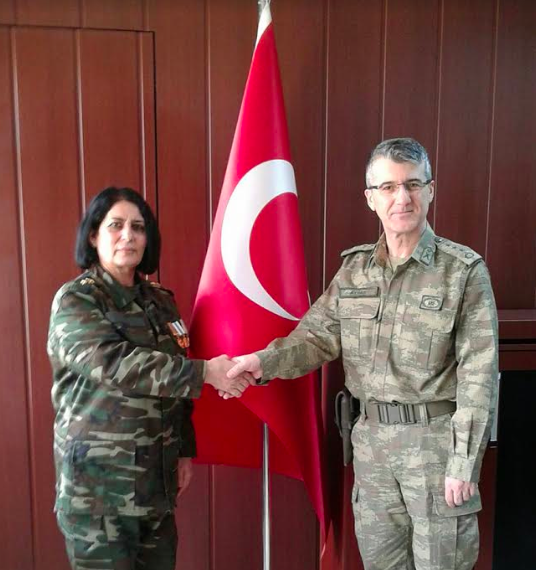 Roza Əliqızından Türk Ordusuna Dəstək
