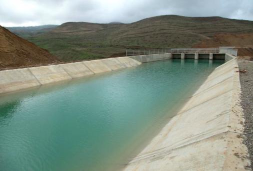 """""""Samur-Abşeron"""" su kanalının tikintisi"""