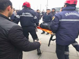 """""""Koroğlu"""" metro stansiyasının yaxınlığında İNANILMAZ VƏHŞİLİK"""