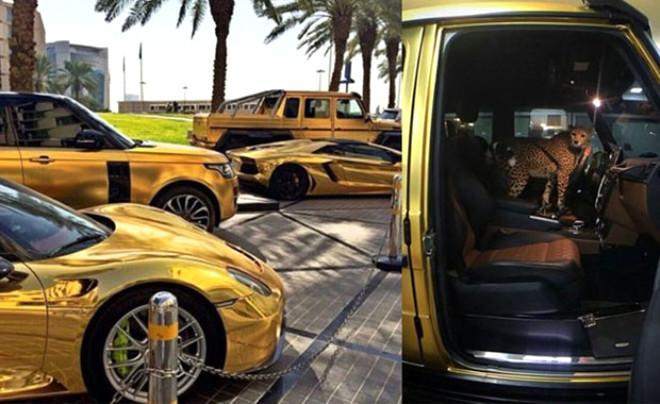 24 yaşlı gənc işləməsə də, qızıldan avtomobilləri var