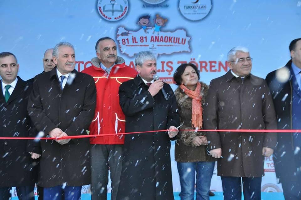 Mübariz Mənsimov Türkiyədə məktəb tikdirdi