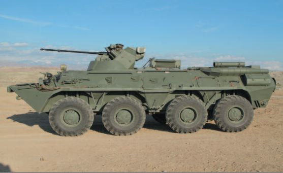 Naxçıvanda ordunun silahlanmasına müasir BTR-82A zirehli transportyorları daxil edilib