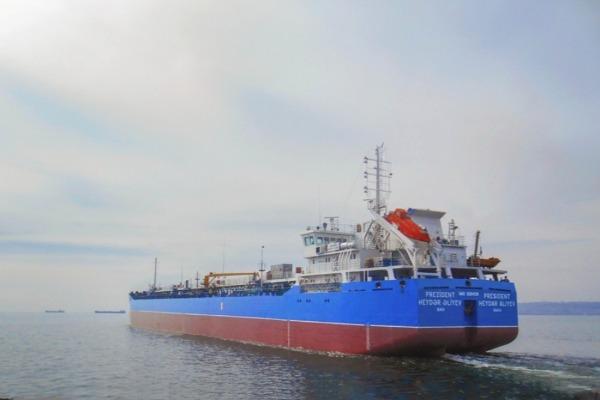 """""""Prezident Heydər Əliyev"""" tankeri istismara"""