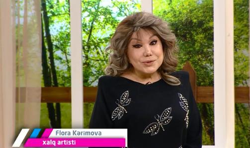 """Flora Kərimovaya """"yaşıl işıq"""""""